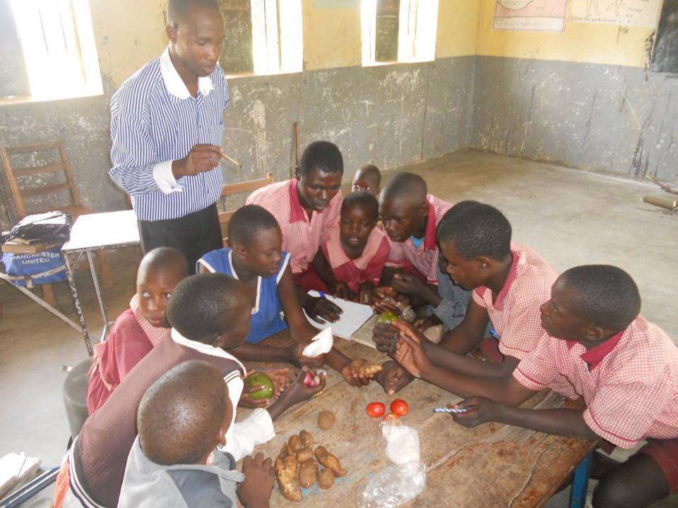 Andre Foods International  Trainers Conduct Nutrition  and Health Education in  Primary schools